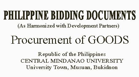 Invitation to Bid  Procurement of Various Air- conditioner