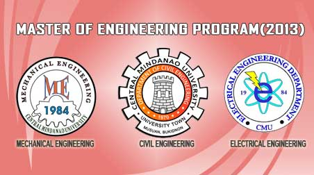 MASTER OF ENGINEERING  PROGRAM (2013)