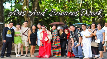 CAS CELEBRATES ARTS AND  SCIENCES WEEK