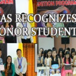 CAS RECOGNIZES HONOR STUDENTS