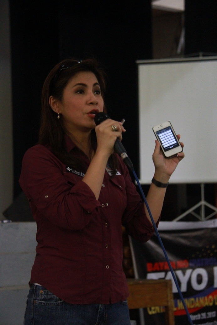 Ms Jing Castañeda discusses about Citizen Journalism