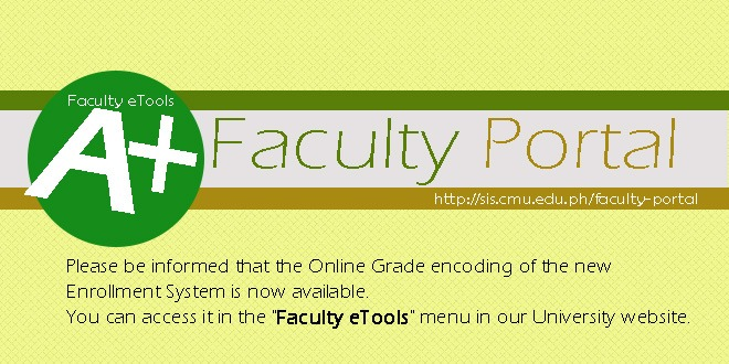 faculty portal updated