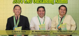 CMUAAI awards 2014 CMU Outstanding Alumni