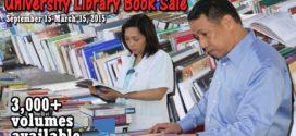 University Library Book Sale