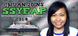 CMUan joins SSYEAP 2014
