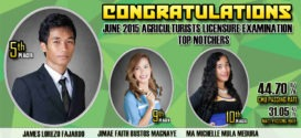 CMU-CA produces 3 topnotchers in June 2015 ALE