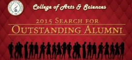 COLLEGE OF ARTS AND SCIENCES  2015 SEARCH FOR OUTSTANDING ALUMNI