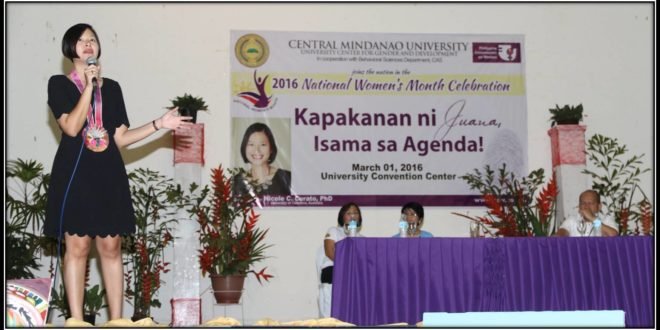 CMU celebrates National Women's Month