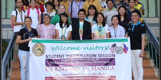 US Embassy in Manila conducts Student Information Session at CMU