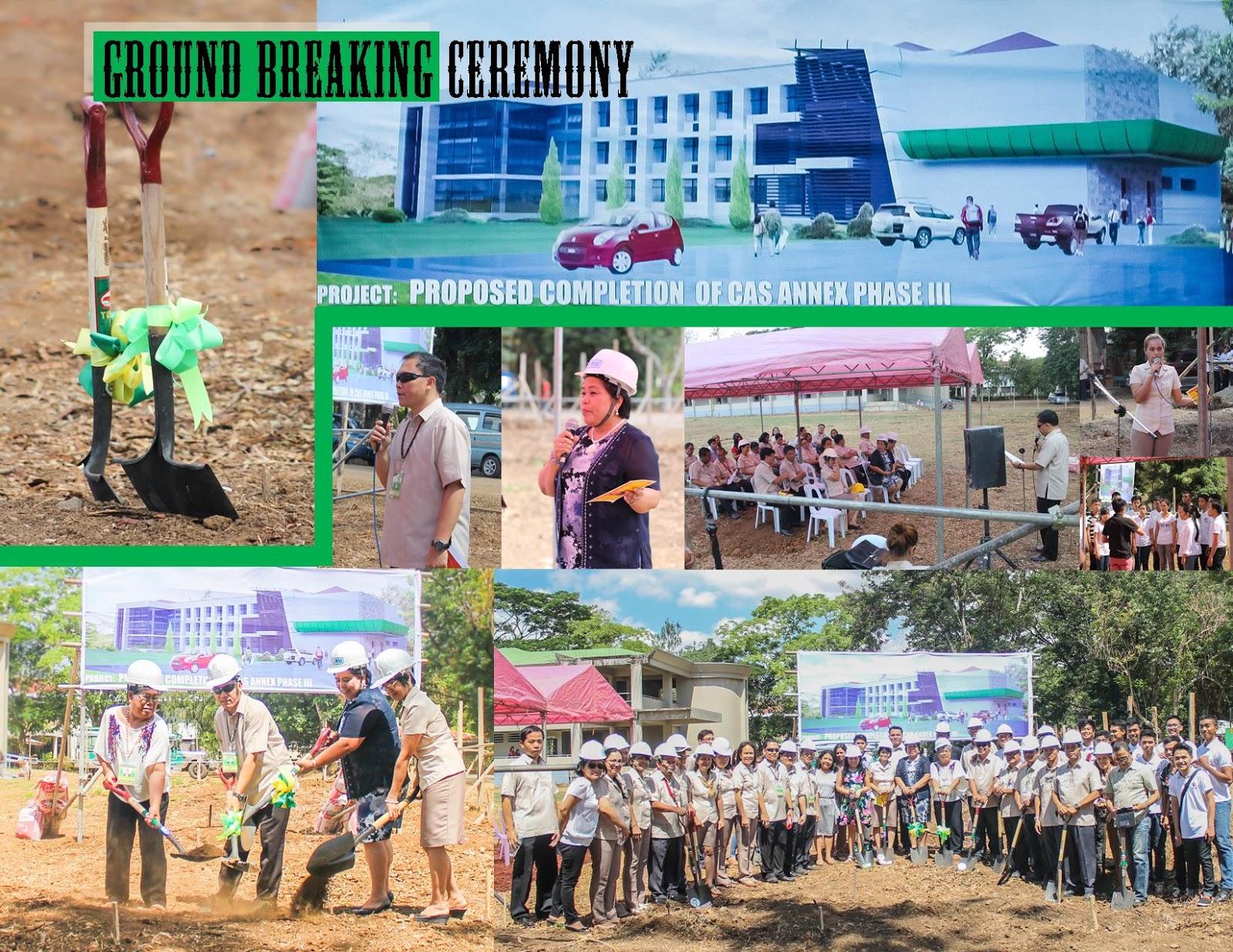 CAS Annex Groundbreaking Ceremony