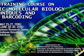 DNA Barcoding Training