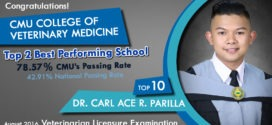 Parilla ranks 10th in 2016 Vet Exam