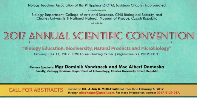 2017 Annual Scientific Convention