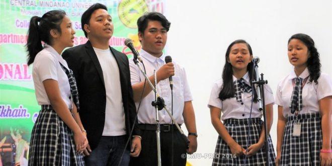 SHS students lead Arts Month celebration