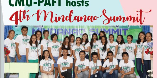 CMU-PAFT hosts 4th Mindanao Summit