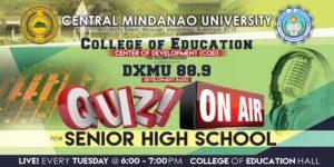 Quiz On Air for Senior High School