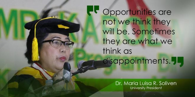 Welcome Address Dr. Maria Luisa R. Soliven