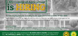 College of Agriculture: Instructors
