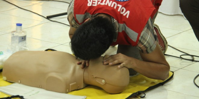 29 faculty submit to 2-day first aid training