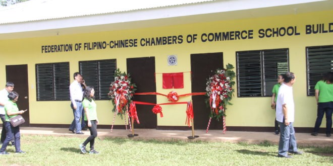 Filipino-Chinese bizman donates new CMULHS building