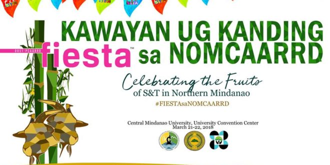 NOMCAARRD to hold first ever Kawayan ug Kanding Fiesta