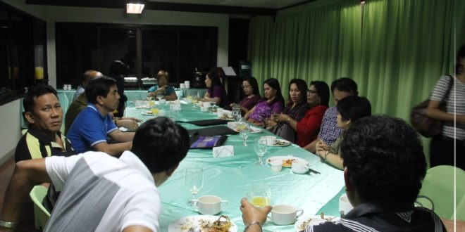 IN PHOTOS: Welcome dinner for the AACCUP accreditors at the CEC Board Room