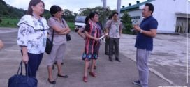 EARLIER: The survey team had their site visit in the university.