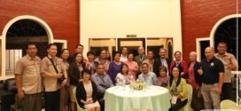 LOOK: Dinner with the accreditors and the university key officials at the Alumni Lounge Fulbright Garden.