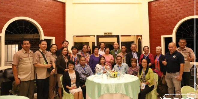 LOOK: Dinner with accreditors and university officials at the Fulbright Garden