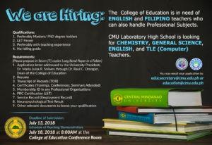EDUC hiring