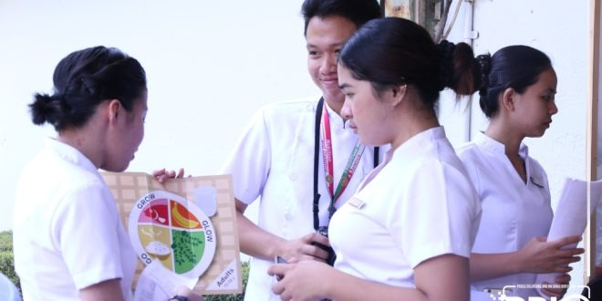 IN PHOTOS: ND students conduct free nutrition consultation.