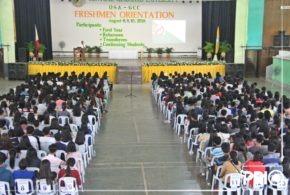 Students undergo half-day orientation
