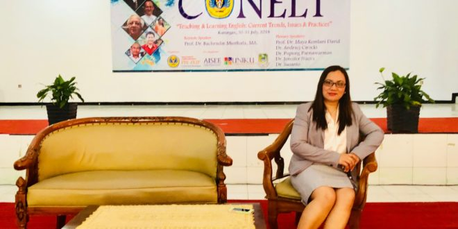 Dr. Nueva serves as a plenary speaker for the International Conference