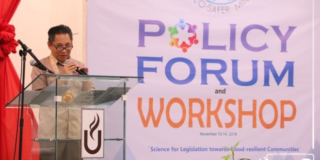 IN PHOTOS: CMU GEO-SAFER Mindanao Policy Forum and Workshop