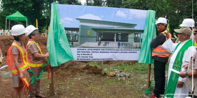 IN PHOTOS: Ground Breaking Ceremony of the University Center for Gender and Development (UCGAD) Building.