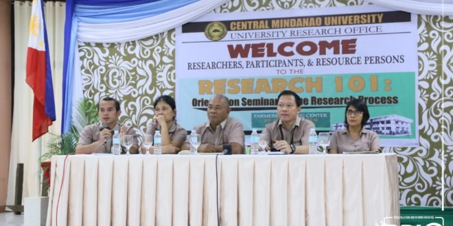IN PHOTOS: University Research Office conducted a Research 101: Orientation Seminar on the Research