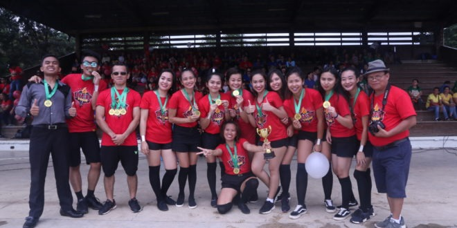 Red Team triumphs Faculty & Staff Palaro