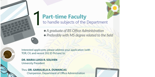 HIRING: Department of Office Administration