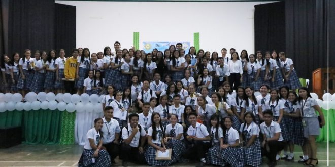 IN PHOTOS: Congratulations CMU-Senior High School-Accountancy, Business and Management (ABM) strand hailed as the overall champion during the 3rd Provincial-wide Business Wars of Young Executives for Senior High School-ABM strand held at the University Convention Center.