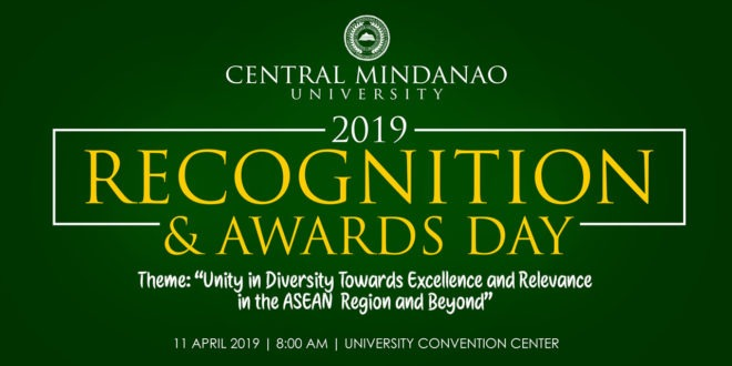 LOOK: CMU 2019 Recognition and Awards Day!🥇🥈🥉