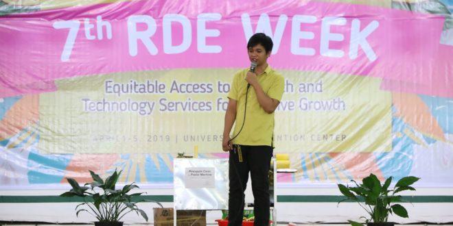 IN PHOTOS: #CMU7thRDEWeek Day 2: Techno-demo Pabonggahan (Part 1)