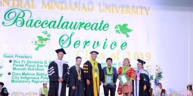 IN PHOTOS: Baccalaureate & Tribute to Parents 2019