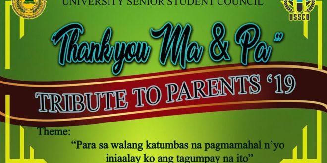 LOOK: TRIBUTE TO PARENTS 2019