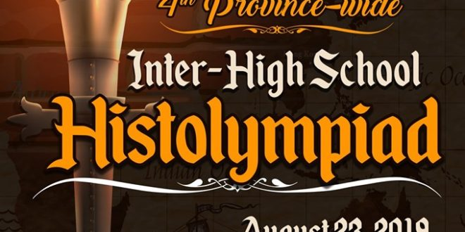 LOOK: 4th Province-wide Inter-High School HISTOLYMPIAD