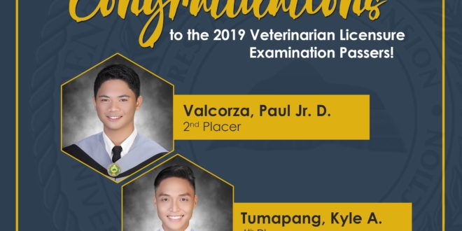 CMU Vet Topnotchers reveal the story behind their success