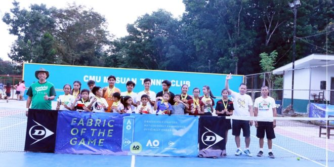 IN PHOTOS: Highlights and awarding of the CMU Musuan Tennis Tournament championship game (Part 3)