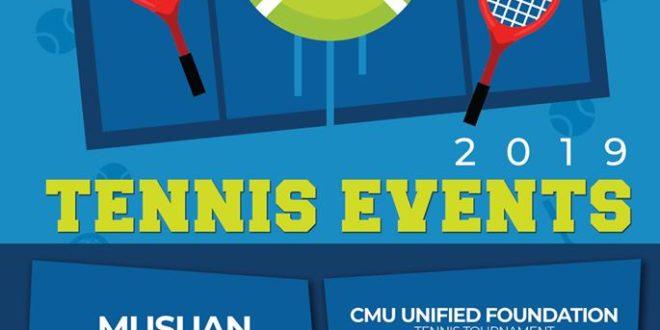 LOOK: CMU TENNIS EVENTS 2019