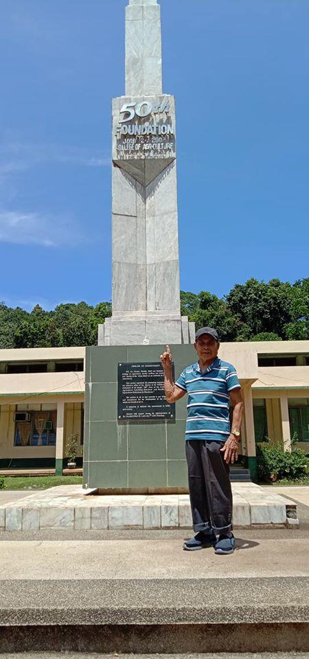 LOOK: Mr. Leonardo Pedroso from Zamboanga del Sur an alumnus of this university batch 1961