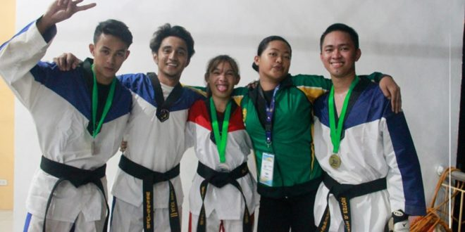 IN PHOTOS: CMU winners of Tae-Kwon-Do held at Naasag Covered Court, Camiguin, November 24