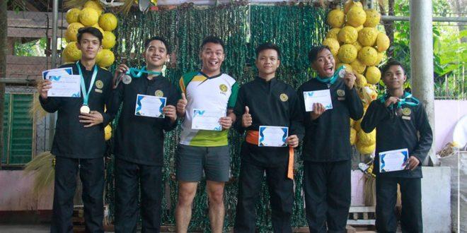 IN PHOTOS: CMU winners of Pencak Silat held at Pandan Covered Court, Camiguin, November 25